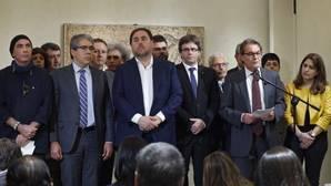 Puigdemont acusa a PP y PSOE de «ir en la dirección contraria» para solucionar el conflicto catalán