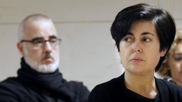 Rosario Porto y Alfonso Basterra durante su juicio en 2015