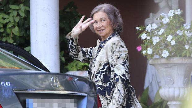 La Reina Sofía, en una foto de archivo
