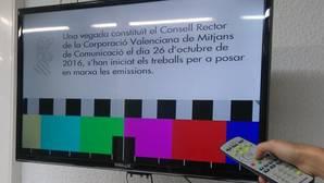 El Gobierno valenciano anuncia a través de la carta de ajuste la próxima reapertura de la televisión