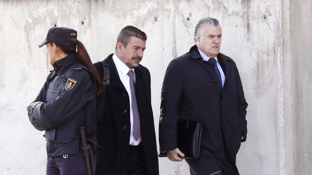 Bárcenas llega al juicio en la Audiencia Nacional