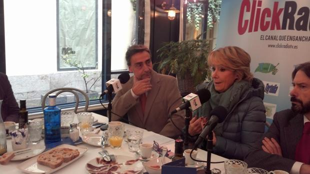 Espernza Aguirre, esta mañana en Madrid Foro Empresarial (MFE)