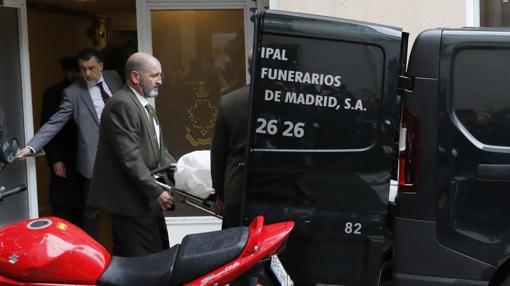 El cadáver de Rita Barberá ha sido trasladado por los servicios funerarios