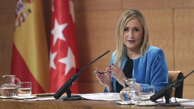 Cristina Cifuentes, presidenta de la Comunidad Autónoma de Madrid