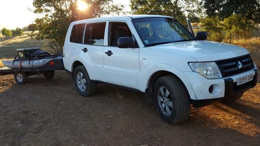 El todoterreno Mitsubishi Montero robado por los ladrones