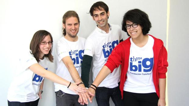Emprendedores participantes en el programa Think Big de la Fundación Telefónica