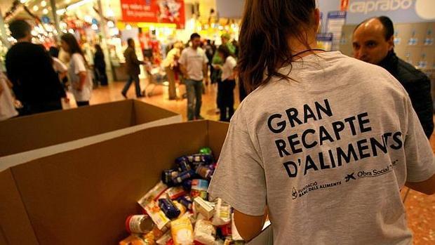 """El """"Gran recapte"""" organizado por el Banco de Alimentos de Cataluña en 2011"""