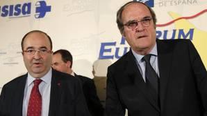 Iceta cree que el pacto PSE-PNV no es el que necesita Cataluña