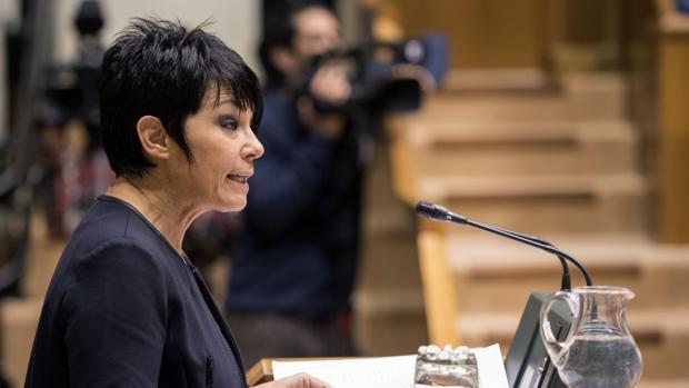 La candidata a lendakari Maddalen Iriarte