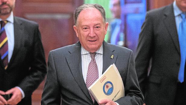 Félix Sanz, director del CNI, del que depende el Centro Criptográfico Nacional