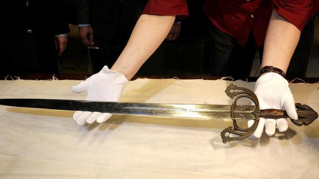 La espada «Tizona» está depositada en el Museo de Burgos