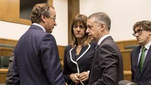 El Parlamento vasco rechaza la candidatura de Urkullu a lendakari en la primera votación