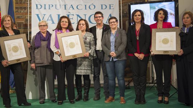 Imagen de la entrega de los I Premios Celia Amorós