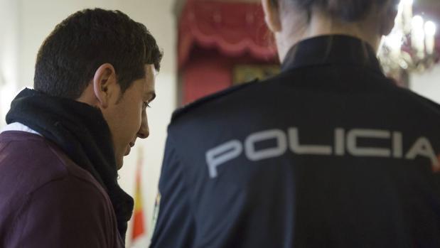 Francisco Javier García Organista, al inicio del juicio que ha comenzado este jueves en Ávila