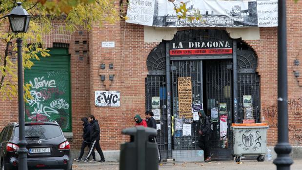 Instalaciones municipales situadas en el cementerio de La Almudena, tras los altercados