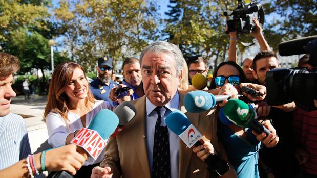 El cuñado de Rita Barberá, José María Corbín, el pasado mes de septiembre