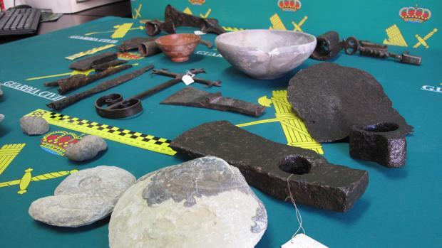 Los restos han sido intervenidos en la zona de Jadraque