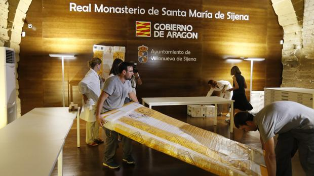 En julio regresaron a Aragón, por mandato judicial, 51 piezas de Sijena. El Museo de Lérida no quiere soltar otras 44
