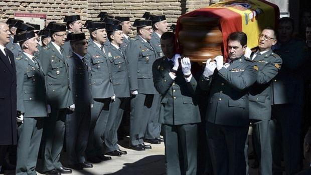 Imagen del funeral por el guardia civil José Antonio Pérez