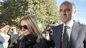 Camps reprocha al PP que no diera cariño a Rita Barberá ante un «trato injusto»