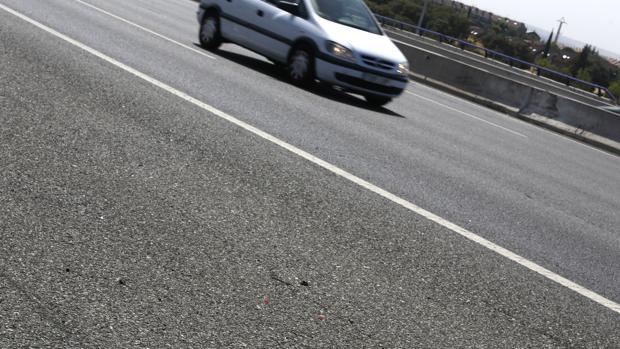 Imagen de archivo de una carretera en la que se produjo un accidente