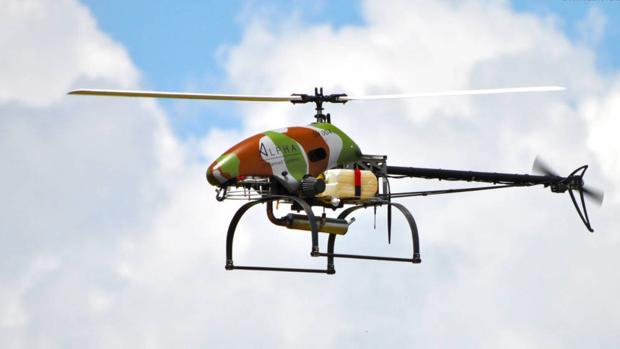 El dron «Sniper» que el ministro de Agricultura israelí regaló al primer ministro ruso