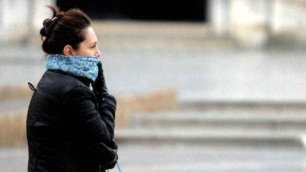 Imagen de archivo de un día de frío en Valencia