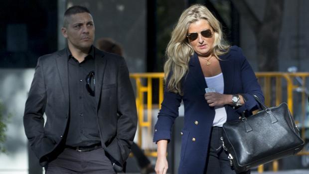 López Negrete, a su llegada a la Audiencia Nacional para declarar como imputada el pasado 27 de septiembre