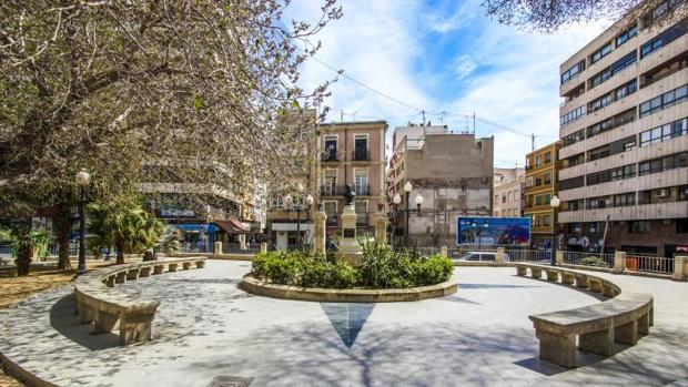 Plaza Calvo Sotelo de Alicante