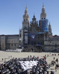 La Catedral de Santiago, ayer