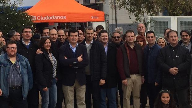 Imagen del acto celebrado hoy en el puerto de Silla, Valencia