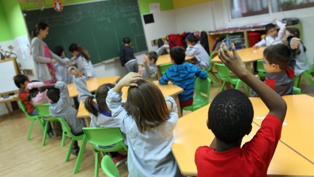 Imagen de archivo de un colegio de Valencia