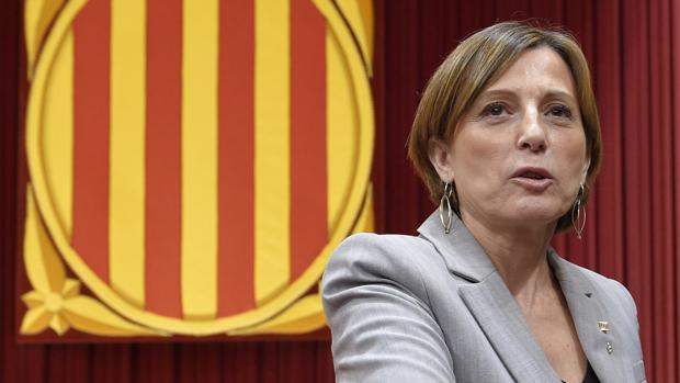 La presidenta del Parlamento de Cataluña, Carme Forcadell