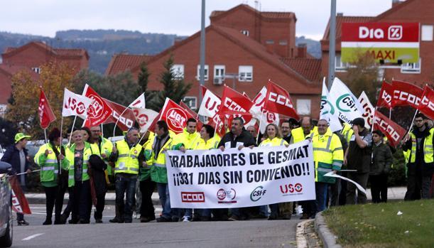 Trabajadores de Gesmat piden el desbloqueo de su convenio colectivo