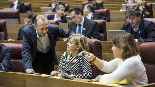 El grupo popular en las Cortes, en una imagen de archivo