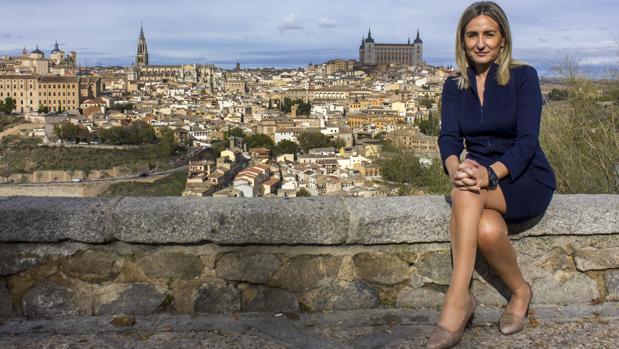 La alcaldesa Milagros Tolón en el Valle toledano