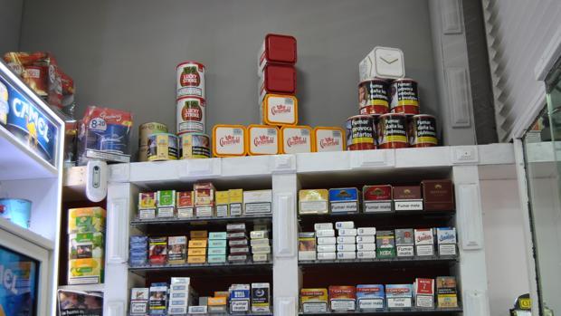 Tienen a la venta una amplia variedad de marcas de tabaco
