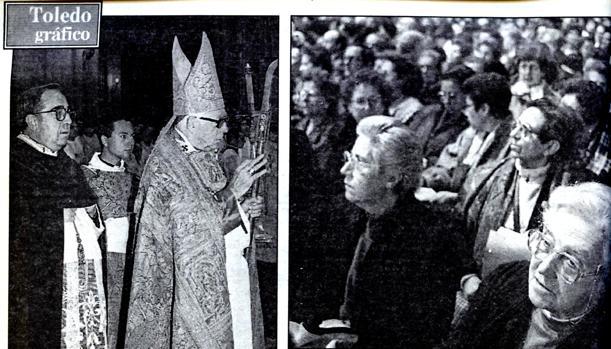 Fotos de clausura del Sínodo celebrada el día 23 y publicadas el día 24