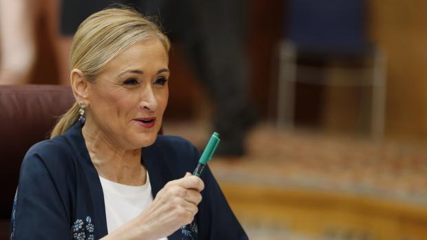 Cristina Cifuentes, presidenta regional de Madrid