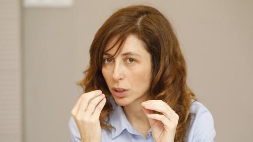 Natalia Martín, vicerrectora de la Universidad de Valladolid