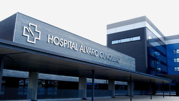 Una de las entrada del hospital vigués