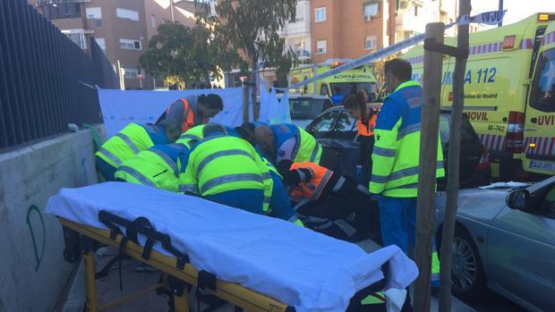 Muere un joven de 18 años tiroteado en el pecho en una calle en Alcobendas