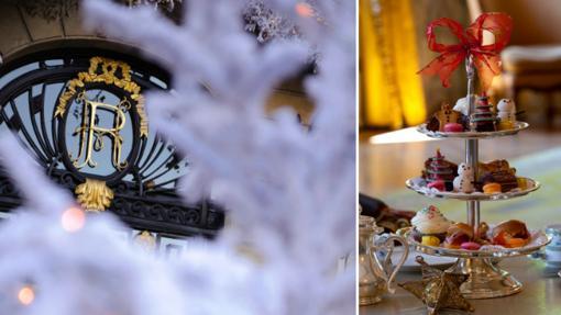 Hotel Ritz, decorado por Navidad