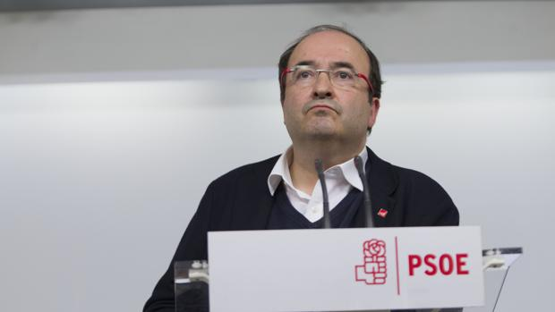 El primer secretario del PSC, Miquel Iceta, en una imagen de archivo