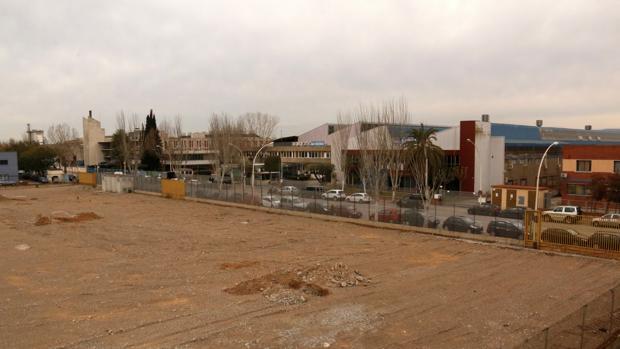Parcela en Zona Franca donde se situará la lavandería industrial de Elis Manomatic