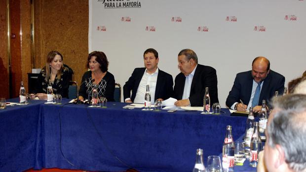 Reunión de la Ejecutiva regional socialista
