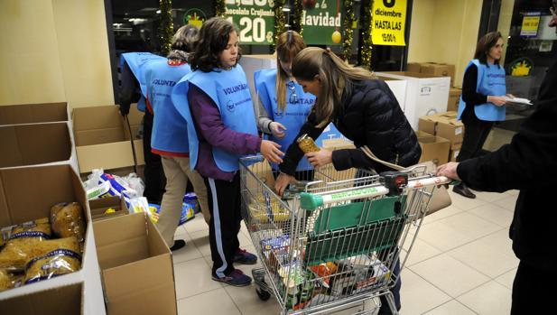 El Banco Alimentos de Toledo logra 100.000 kilos de comida en 62 municipios