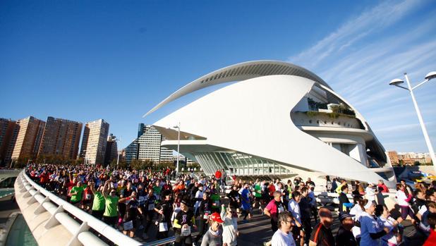 Imagen de la última edición del Maratón de Valencia