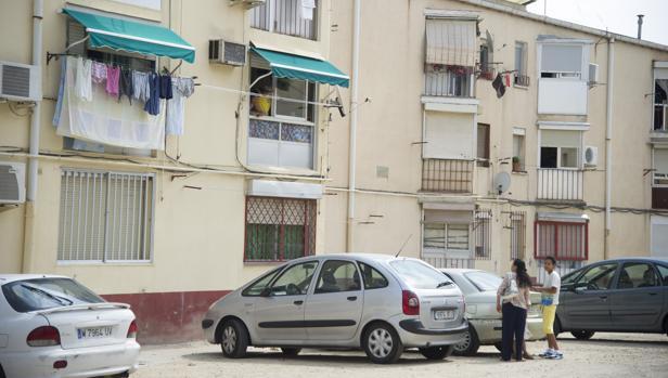 Viviendas de la Colonia Experimental Villaverde, pendientes de rehabilitación