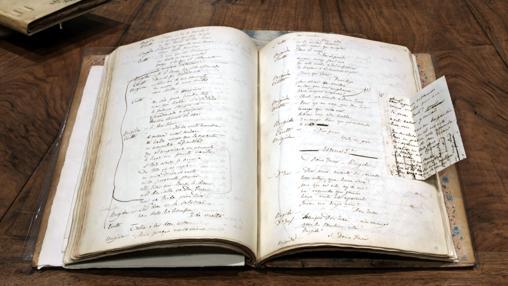 Manuscrito de Don Juan Tenorio conservado en la Biblioteca Nacional